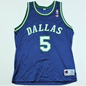 Vintage Champion Dallas Mavericks Jersey Jason Kid